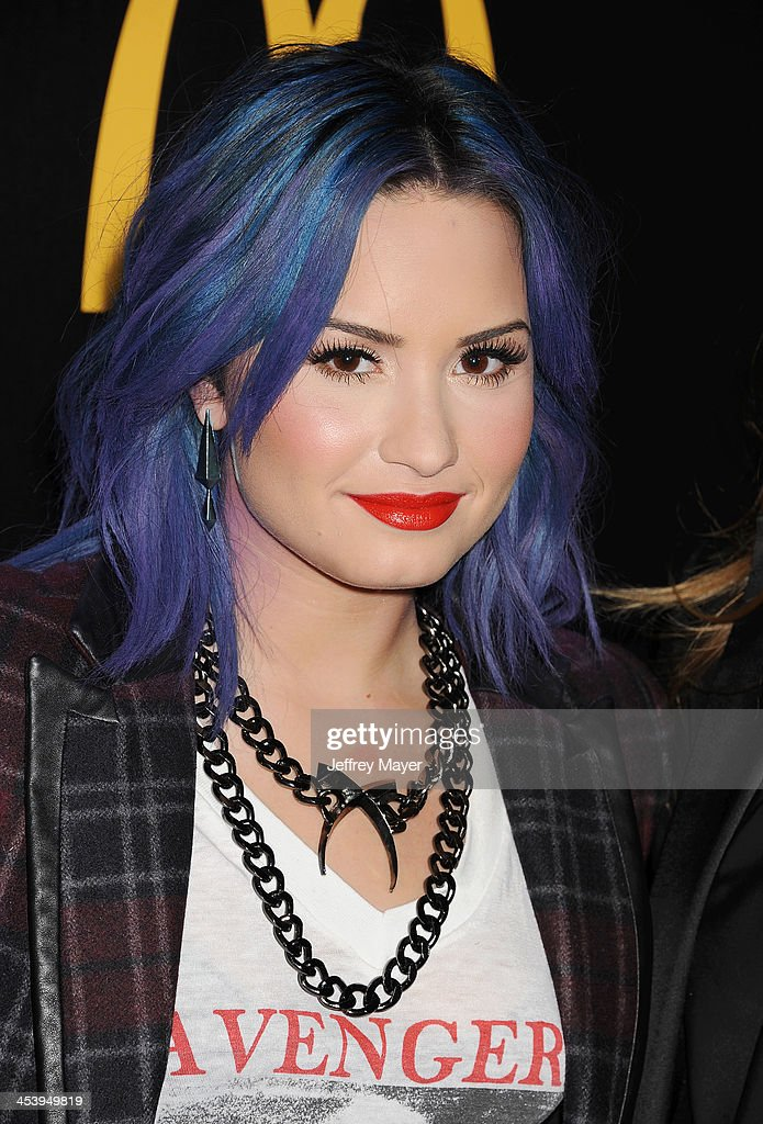 Singer/songwriter Demi Lovato attends NYLON + McDonald's Dec/Jan issue launch party, hosted by cover star Demi Lovato at Quixote Studios on December 5, 2013 in West Hollywood, California.