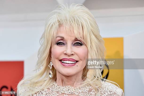 Singersongwriter Dolly Parton attends the 51st Academy of Country Music Awards at MGM Grand Garden Arena on April 3 2016 in Las Vegas Nevada