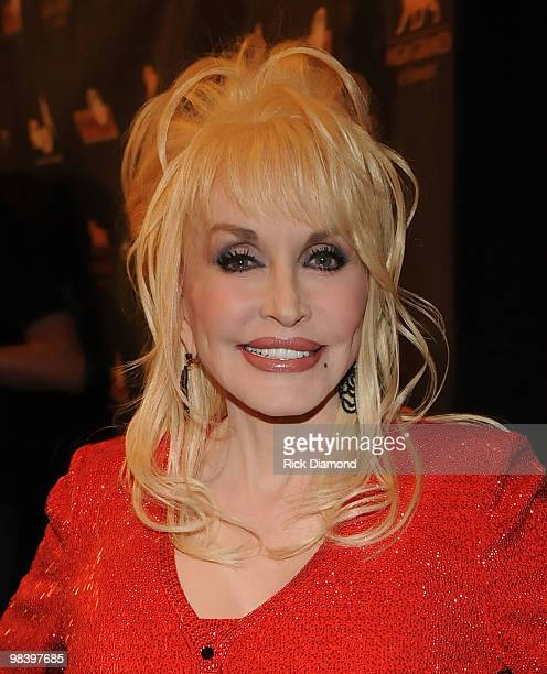 Singer/Songwriter Dolly Parton attends the Kenny Rogers The First 50 Years award show at the MGM Grand at Foxwoods on April 10 2010 in Ledyard Center...