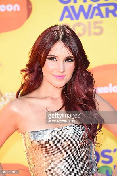 Singer/songwriter Dulce Maria attends Nickelodeon's 28th Annual Kids' Choice Awards held at The Forum on March 28 2015 in Inglewood California