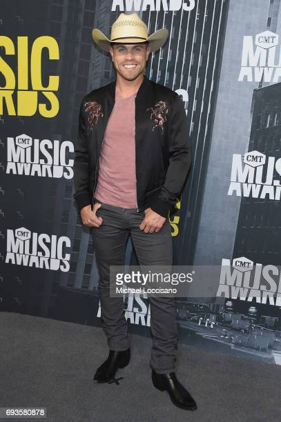 Singersongwriter Dustin Lynch attends the 2017 CMT Music Awards at the Music City Center on June 7 2017 in Nashville Tennessee