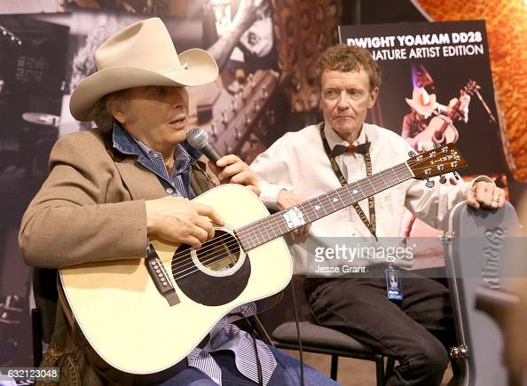 Singersongwriter Dwight Yoakam attends the 2017 NAMM Show Opening Day at Anaheim Convention Center on January 19 2017 in Anaheim California