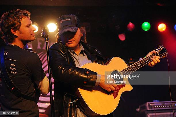 Singer/Songwriter Dwight Yoakam Joins Grammy Nominee Dierks Bentley and Band during his Dierks Bentley and Friends Private Show at The Knitting...