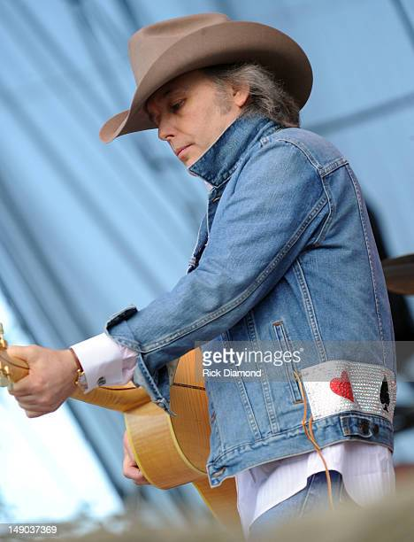 Singer/Songwriter Dwight Yoakam performs at Country Thunder Day 3 on July 21 2012 in Twin Lakes Wisconsin