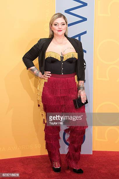 Singersongwriter Elle King attends the 50th annual CMA Awards at the Bridgestone Arena on November 2 2016 in Nashville Tennessee