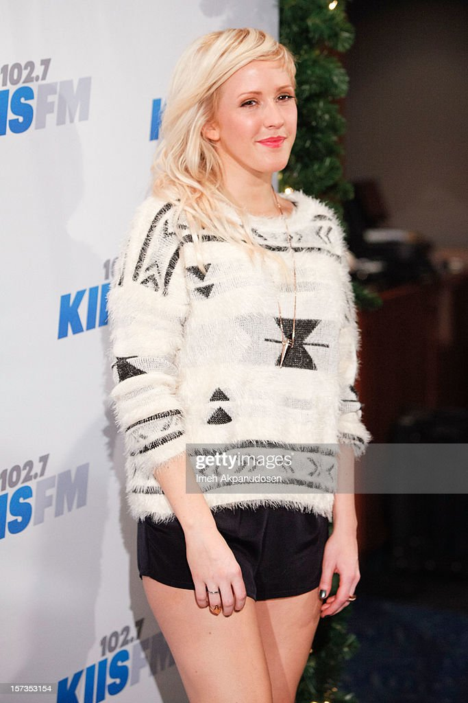 Singer/songwriter <a gi-track='captionPersonalityLinkClicked' href=/galleries/search?phrase=Ellie+Goulding&family=editorial&specificpeople=6389309 ng-click='$event.stopPropagation()'>Ellie Goulding</a> attends KIIS FM's 2012 Jingle Ball at Nokia Theatre L.A. Live on December 1, 2012 in Los Angeles, California.
