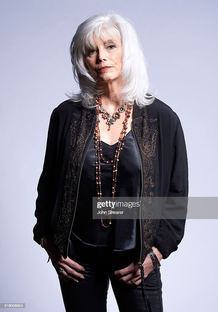 Singer/Songwriter Emmylou Harris poses at The Life & Songs of Kris Kristofferson produced by Blackbird Presents at Bridgestone Arena on March 16, 2016 in Nashville, Tennessee.