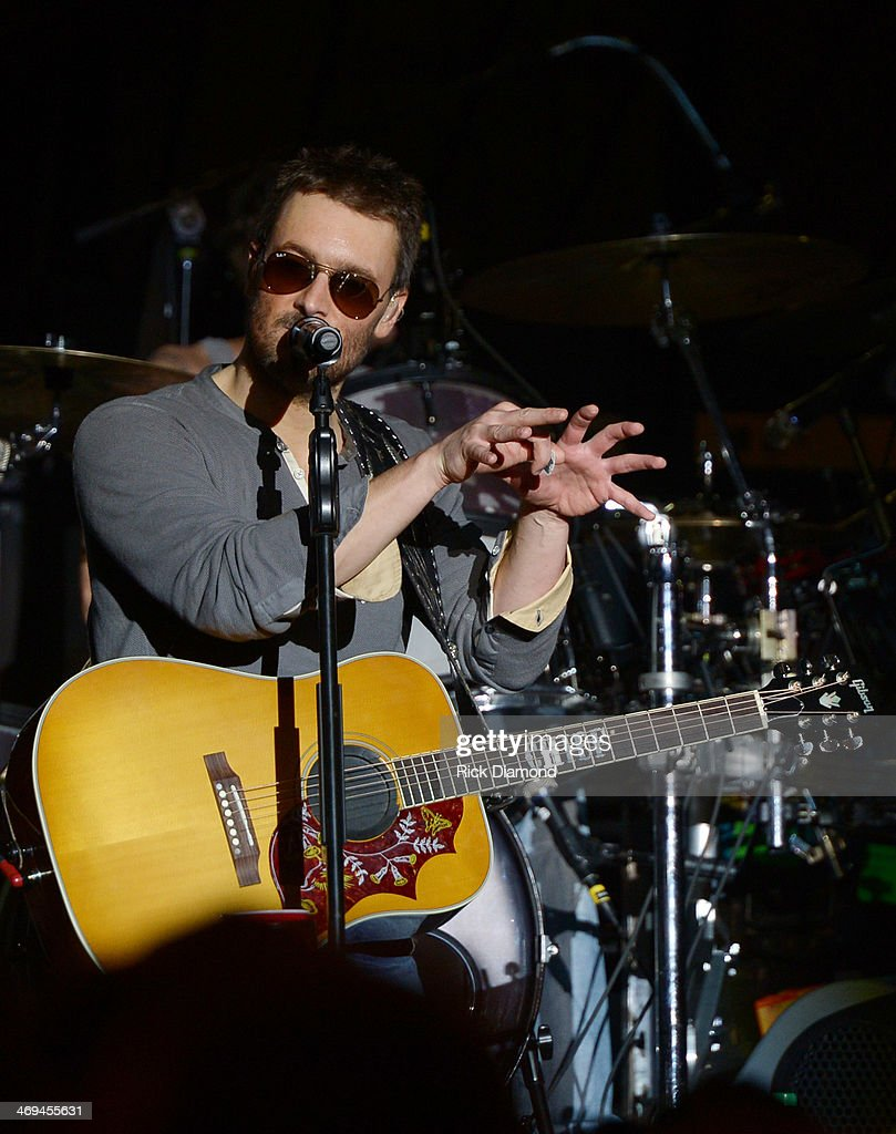 Singer/Songwriter Eric Church Celebrates the release of his new album 'The Outsiders' with The Outsiders Live Tour at the Buckhead Theatre on February 14, 2014 in Atlanta, Georgia.