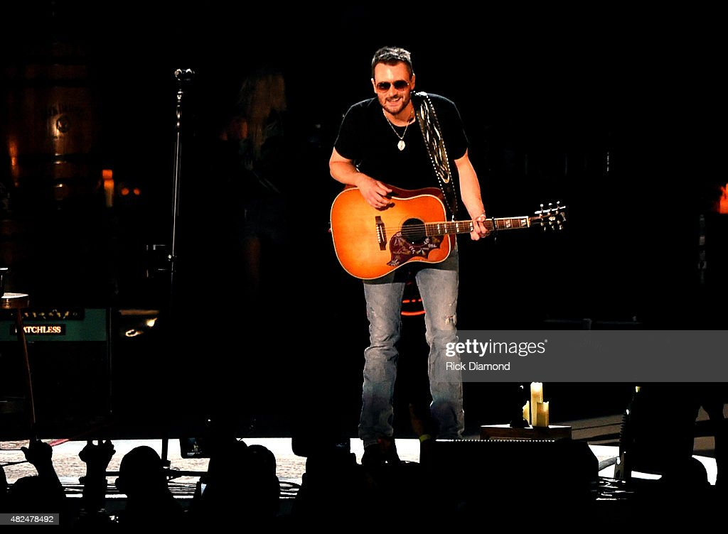Singer/Songwriter Eric Church opens the new Ascend Amphitheater with the first of two sold out solo shows on July 30, 2015 in Nashville, Tennessee.