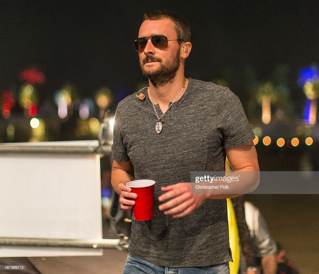 Singer/songwriter Eric Church performs onstage during day 1 of 2014 Stagecoach: California's Country Music Festival at the Empire Polo Club on April 25, 2014 in Indio, California.