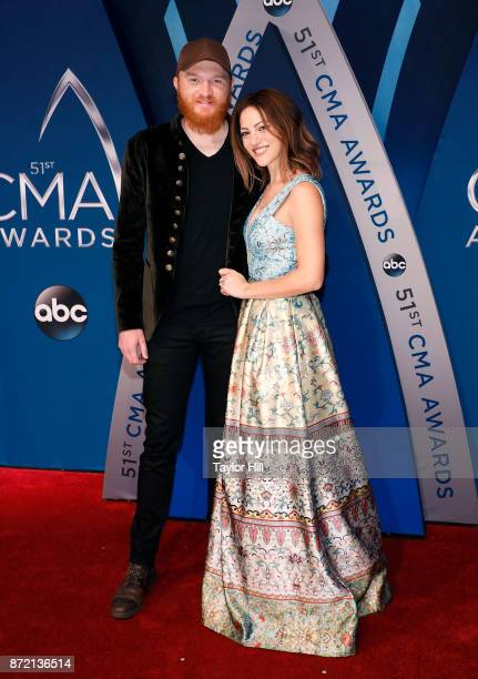 Singersongwriter Eric Paslay attends the 51st annual CMA Awards at the Bridgestone Arena on November 8 2017 in Nashville Tennessee