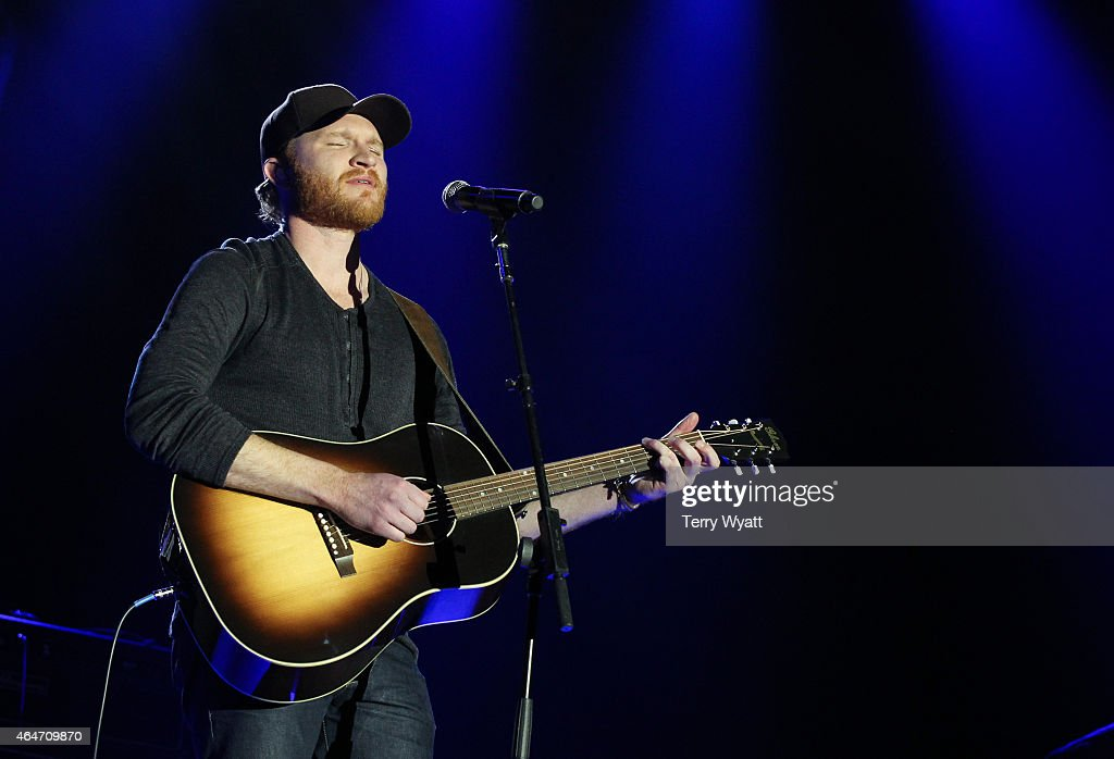 Singer/Songwriter Eric Paslay performs during the New Faces of Country at CRS 2015 on February 27 2015 at the in Nashville Tennessee