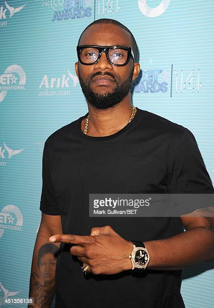 Singersongwriter Fally Ipupa attends the International talent reception VIP party during the BET AWARDS '14 on June 27 2014 in Los Angeles California