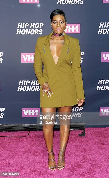 Singer/songwriter Fantasia Barrino attends the 2016 VH1 Hip Hop Honors All Hail The Queens at David Geffen Hall on July 11 2016 in New York City