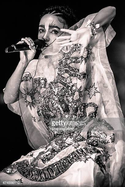 Singersongwriter FKA Twigs performs at the Coachella Valley Music and Arts Festival at The Empire Polo Club on April 11 2015 in Indio California