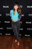 Singer/songwriter Foxes arrives at a New Years Eve party at Moon Nightclub at the Palms Casino Resort on December 31 2013 in Las Vegas Nevada