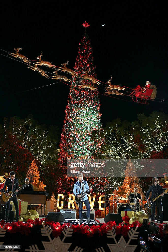 The Grove's 12th Annual Tree Lighting Spectacular Presented By Citi