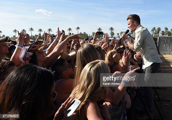 Singer/songwriter Frankie Ballard performs onstage during day three of 2015 Stagecoach California's Country Music Festival at The Empire Polo Club on...