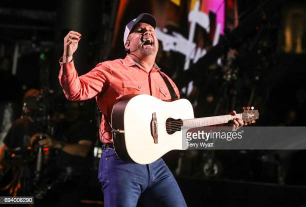 Singersongwriter Garth Brooks performs during day 1 of the 2017 CMA Music Festival on June 8 2017 in Nashville Tennessee