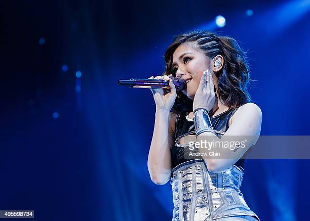 Singersongwriter GEM aka Gloria Tang Tszkei performs onstage during her XXX Tour opener at Pacific Coliseum on November 3 2015 in Vancouver Canada