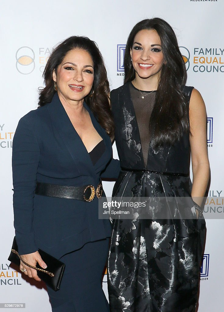Singer/songwriter Gloria Estefan and actress Ana Villafane attend the 11th Annual Family Equality Council Night at the Pier at Pier 60 on May 9, 2016 in New York City.