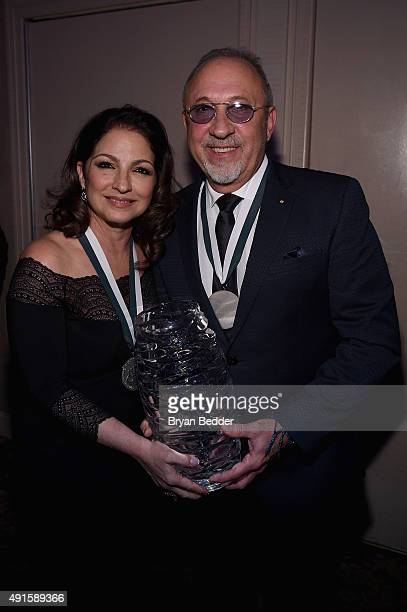 Singersongwriter Gloria Estefan and musician Emilio Estefan attend the 30th Annual Great Sports Legends Dinner to benefit The Buoniconti Fund to Cure...