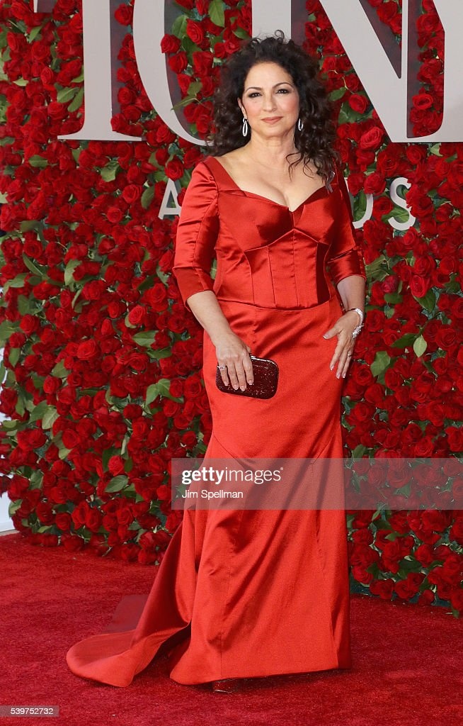 Singer/songwriter Gloria Estefan attends the 70th Annual Tony Awards at Beacon Theatre on June 12, 2016 in New York City.