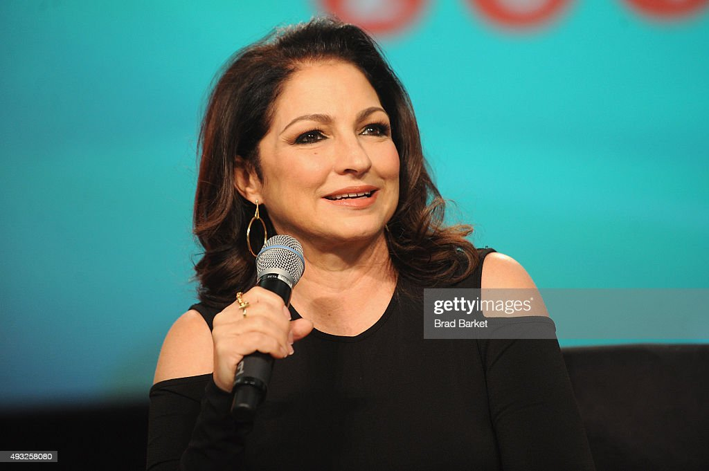 Singer-songwriter <a gi-track='captionPersonalityLinkClicked' href=/galleries/search?phrase=Gloria+Estefan&family=editorial&specificpeople=201703 ng-click='$event.stopPropagation()'>Gloria Estefan</a> speaks onstage during Festival PEOPLE En Espanol 2015 presented by Verizon at Jacob Javitz Center on October 18, 2015 in New York City.