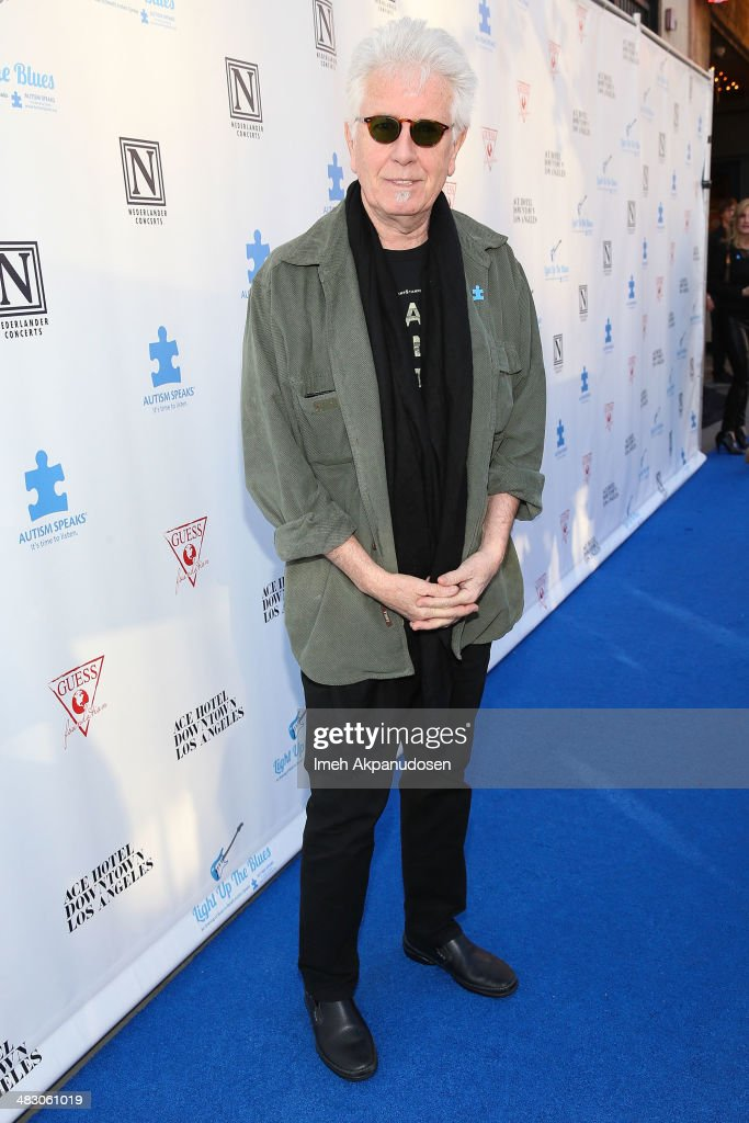 Singer/songwriter Graham Nash attends the 2nd Light Up The Blues Concert - An Evening Of Music To Benefit Autism Speaks at The Theatre At Ace Hotel on April 5, 2014 in Los Angeles, California.