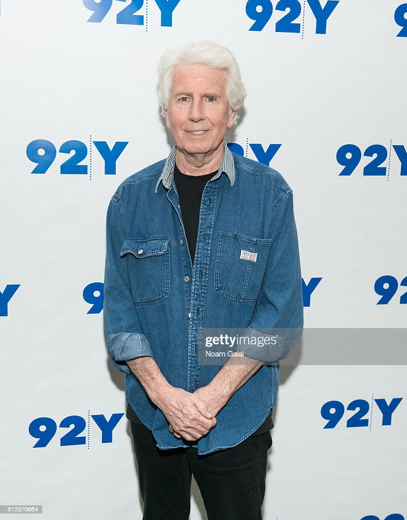 Singer-songwriter Graham Nash visits 92Y on February 25, 2016 in New York City.