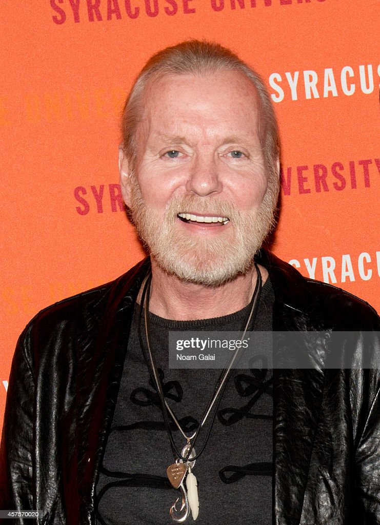 Singer/Songwriter Gregg Allman attends the Syracuse University Bandier Program Alumni Association Allman/Lehman Endowed Scholarship Announcement at The Beacon Theatre on October 20, 2014 in New York City.