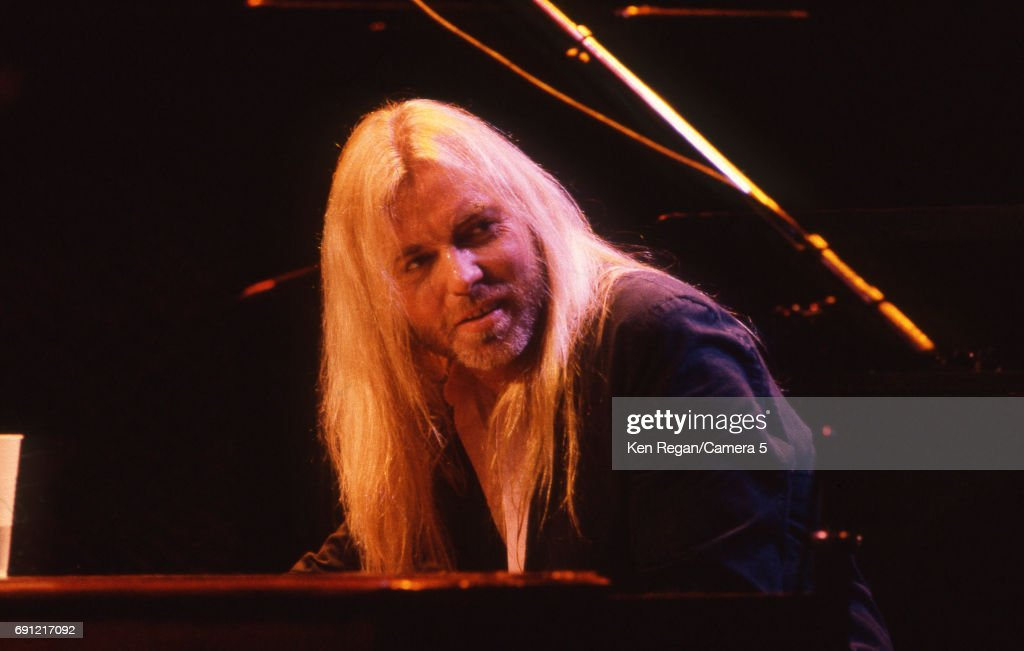 Singer/songwriter Gregg Allman of the Allman Brothers Band is photographed at Madison Square Garden in New York City on October 31, 1986.