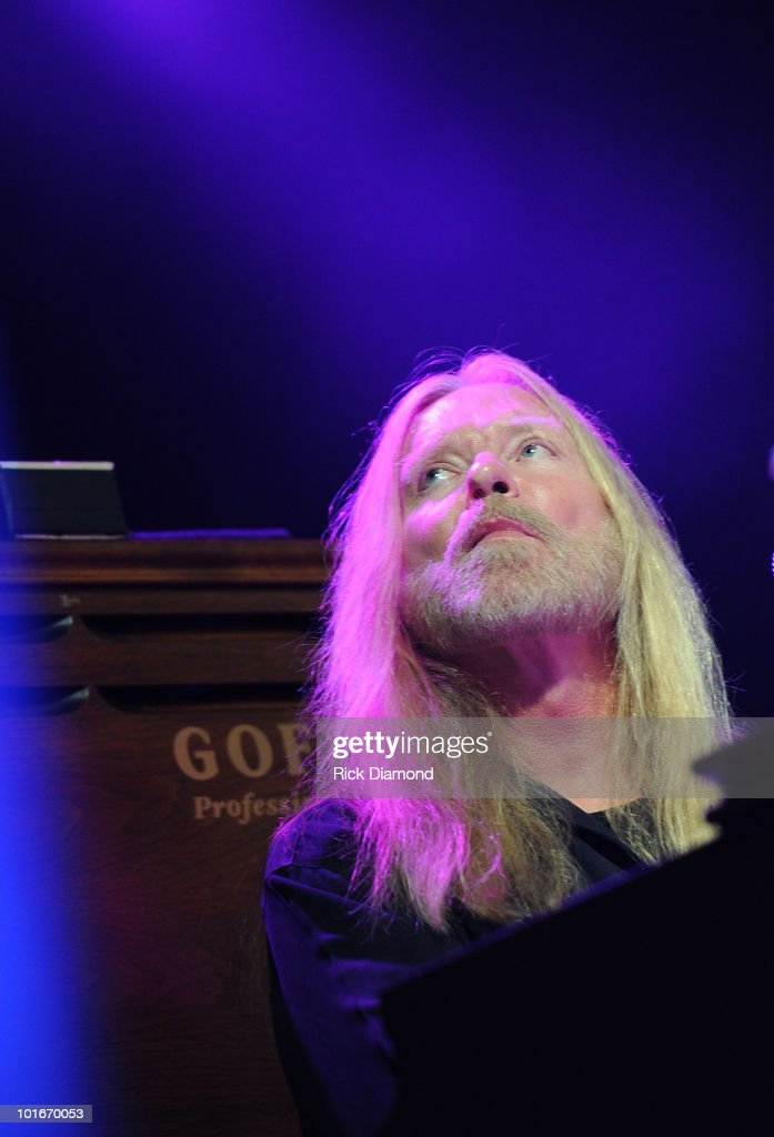 Singer/Songwriter Gregg Allman performs during the 2010 BamaJam Music & Arts Festival at the corner of Hwy 167 and County Road 156 on June 5, 2010 in Enterprise, Alabama.