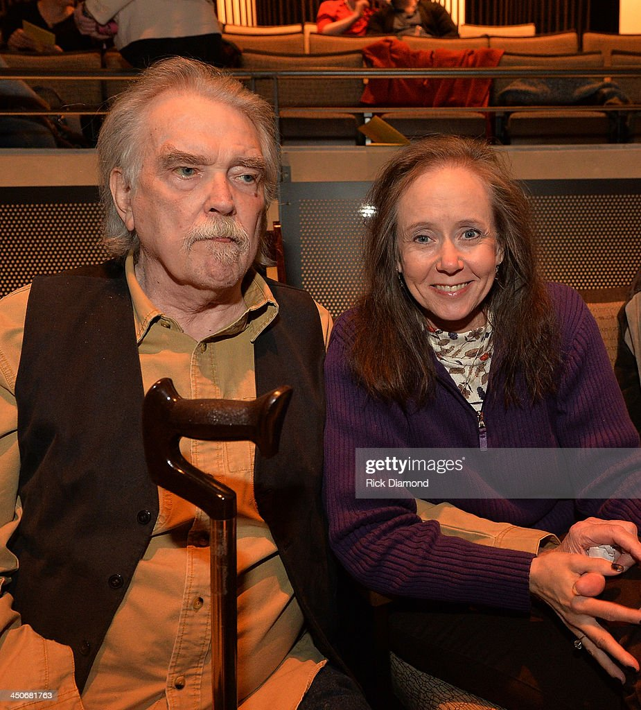 Singer/Songwriter Guy Clark and Joy Brogdon attend Ricky Skaggs - Day 2 Bluegrass Rules at the CMA Theater on November 19, 2013 in Nashville, Tennessee. Skaggs was recently announced as the Country Music Hall of Fame and Museum's 2013 Artist-in-Residence.