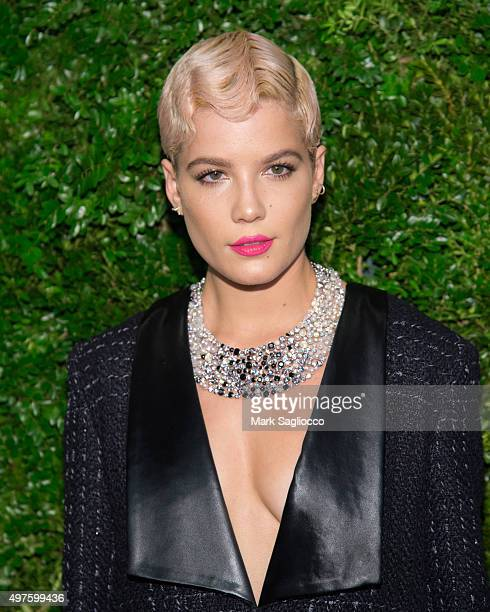 Singer/Songwriter Halsey attends the 8th Annual Museum Of Modern Art Film Benefit Honoring Cate Blanchett on November 17 2015 in New York City