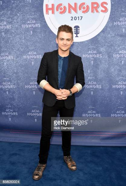 Singersongwriter Hunter Hayes attends the 11th Annual ACM Honors at the Ryman Auditorium on August 23 2017 in Nashville Tennessee