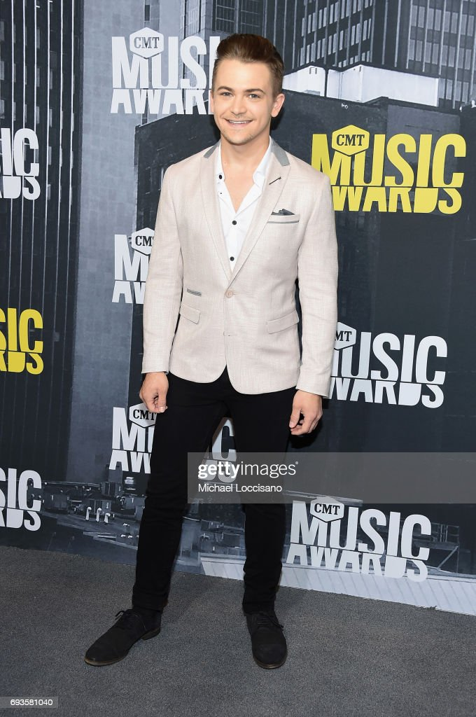Singer-songwriter Hunter Hayes attends the 2017 CMT Music Awards at the Music City Center on June 7, 2017 in Nashville, Tennessee.
