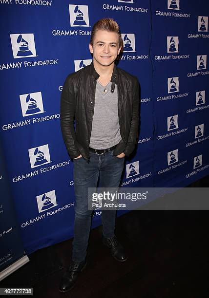 Singersongwriter Hunter Hayes attends the 6th annual GRAMMY In The Schools Live at Club Nokia on February 4 2015 in Los Angeles California