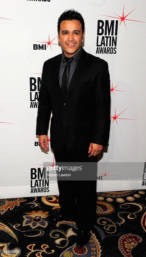 Singer/songwriter Ismael Gallegos arrives at the BMI;s 20th Annual Latin Music Awards at the Bellagio on March 21, 2013 in Las Vegas, Nevada.