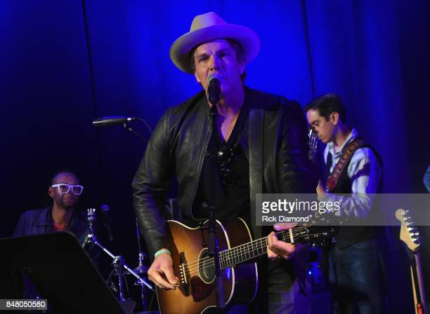 Singer/Songwriter Jack Ingram performs during 18th Annual Americana Music Festival Conference Mike Judge Presents Tales From The Tour Bus Series...