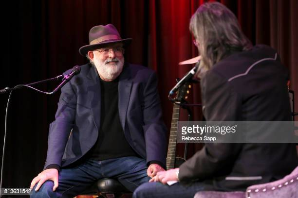 Singer/songwriter Jack Tempchin speaks with Executive Director of the GRAMMY Museum Scott Goldman at Peaceful Easy Feeling An Evening With Jack...