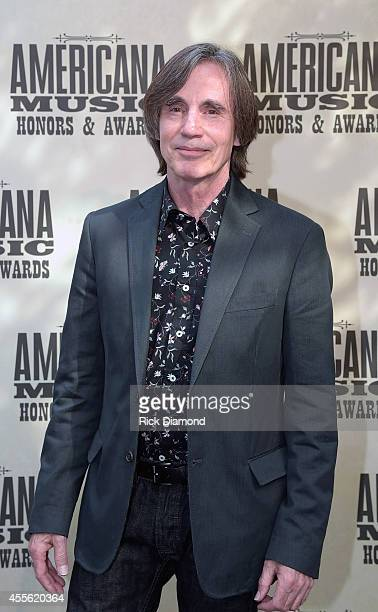 Singersongwriter Jackson Browne attends the 13th annual Americana Music Association Honors and Awards Show at the Ryman Auditorium on September 17...