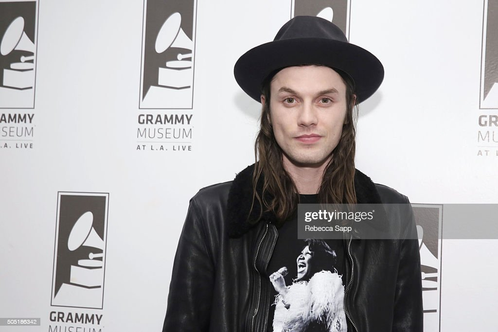 Singer/songwriter James Bay attends Spotlight: James Bay at The GRAMMY Museum on January 15, 2016 in Los Angeles, California.