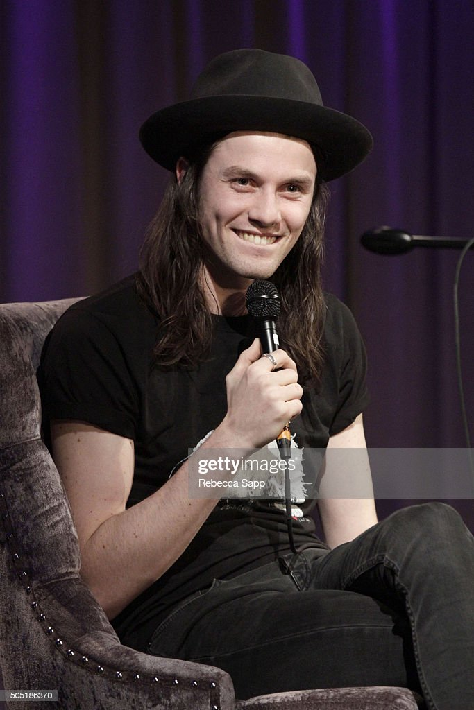 Singer/songwriter James Bay speaks onstage at Spotlight: James Bay at The GRAMMY Museum on January 15, 2016 in Los Angeles, California.