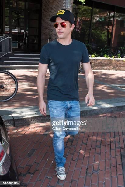 Singersongwriter James Blunt visits Fox 29's 'Good Day' at FOX 29 Studio on July 12 2017 in Philadelphia Pennsylvania