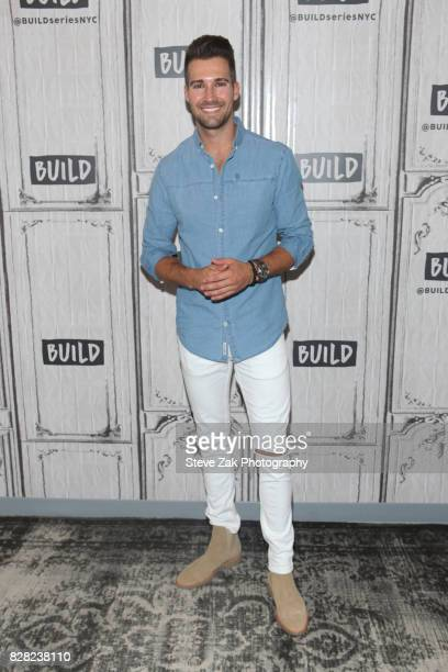 Singer/songwriter James Maslow attends Build Series to disucss his first single 'Cry' off of his new solo album 'How I Like It' at Build Studio on...