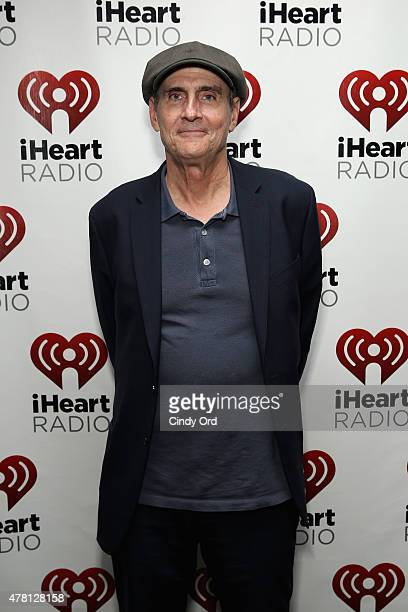 Singersongwriter James Taylor attends iHeartRadio ICONS with James Taylor presented by PC Richard Son at iHeartRadio Theater on June 22 2015 in New...