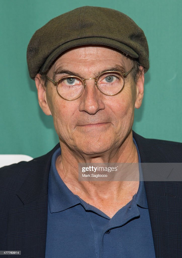 Singer/Songwriter <a gi-track='captionPersonalityLinkClicked' href=/galleries/search?phrase=James+Taylor+-+Songwriter&family=editorial&specificpeople=206431 ng-click='$event.stopPropagation()'>James Taylor</a> attends the CD Signing of <a gi-track='captionPersonalityLinkClicked' href=/galleries/search?phrase=James+Taylor+-+Songwriter&family=editorial&specificpeople=206431 ng-click='$event.stopPropagation()'>James Taylor</a>: Before This World' at Barnes & Noble Union Square on June 19, 2015 in New York City.