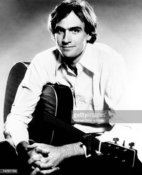 Singer/songwriter James Taylor poses for a portrait in June 1977
