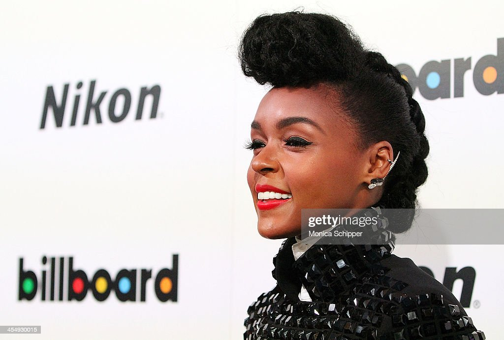 Singer-songwriter <a gi-track='captionPersonalityLinkClicked' href=/galleries/search?phrase=Janelle+Monae&family=editorial&specificpeople=715847 ng-click='$event.stopPropagation()'>Janelle Monae</a> attends the 2013 Billboard Annual Women in Music Event at Capitale on December 10, 2013 in New York City.